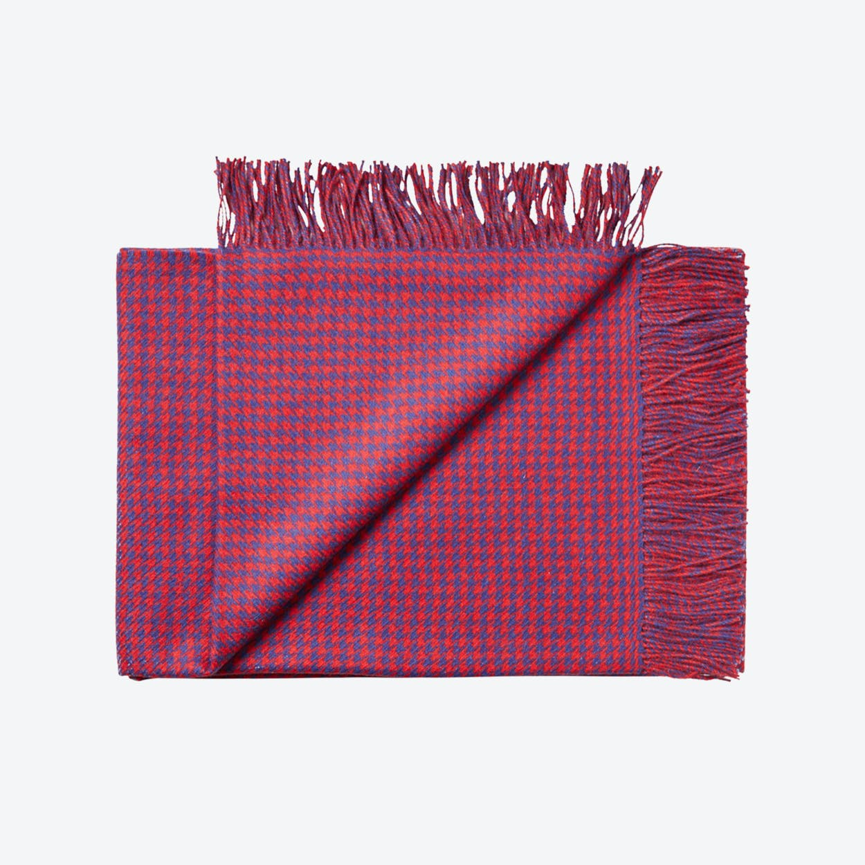 Nazca Baby Alpaca Throw in Red
