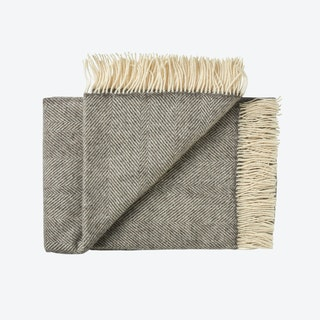 Rømø Wool Throw in Grey