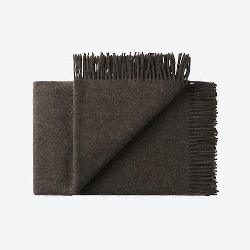 Samsø Wool Throw in Brown