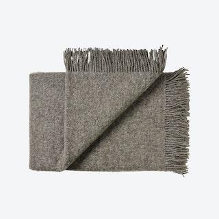 Samsø Wool Throw in Grey