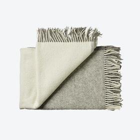 Bornholm Wool Throw in Grey