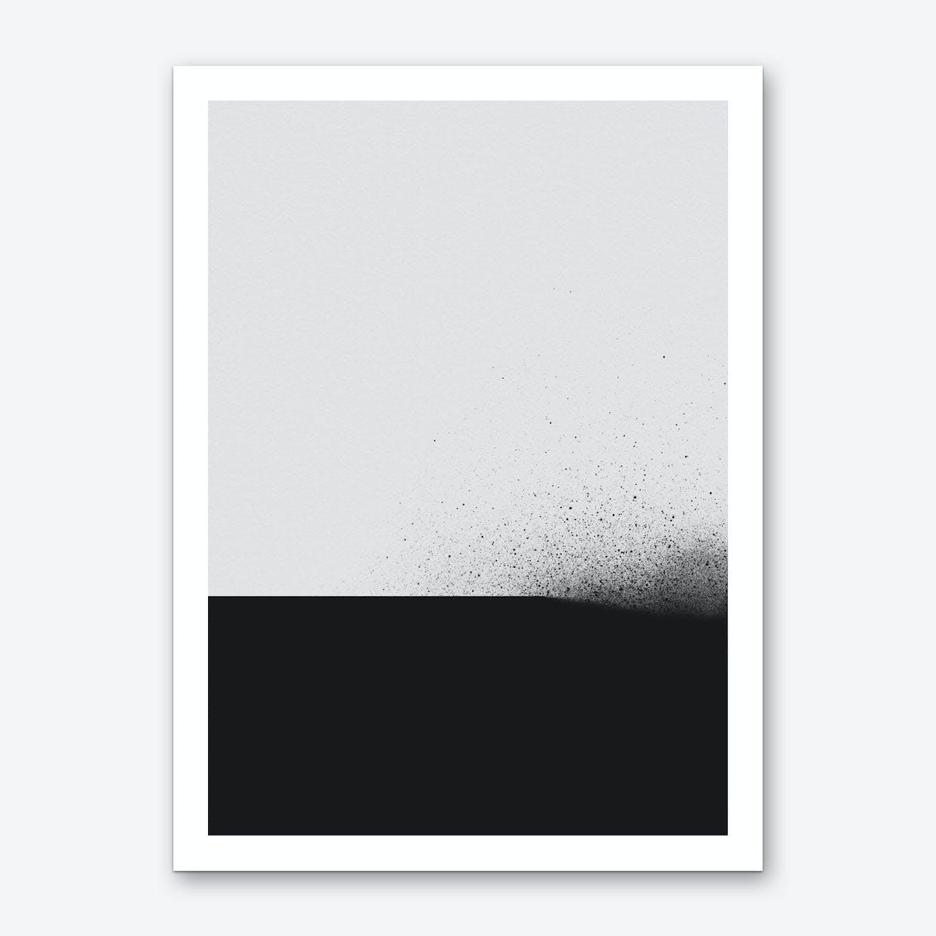 Black 00 Art Print