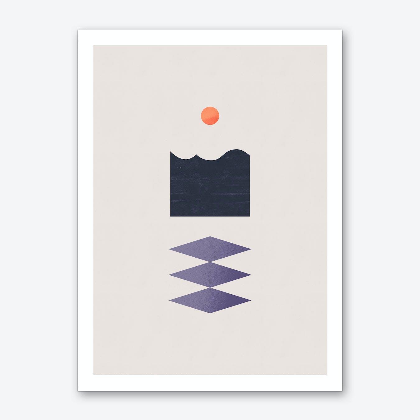 Mend Art Print