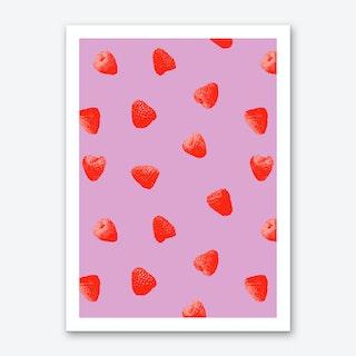 Raspberry Heaven Art Print