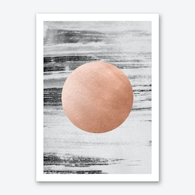 Rose Gold #1 Art Print