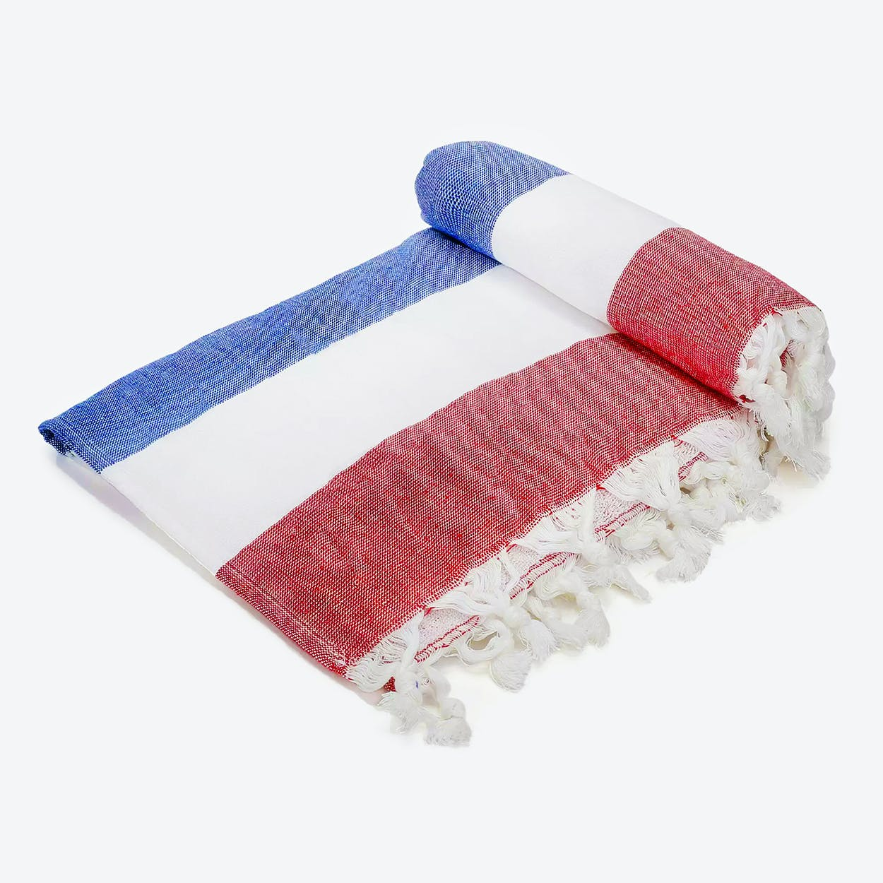 Terry Nautical Beach Towel in Multi-Color
