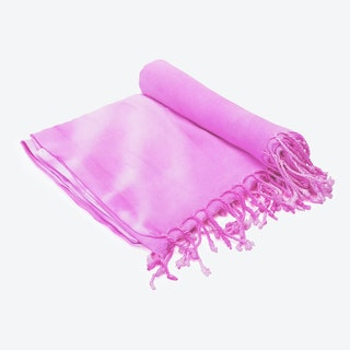 Strawberry Swirl Beach Towel in Pink