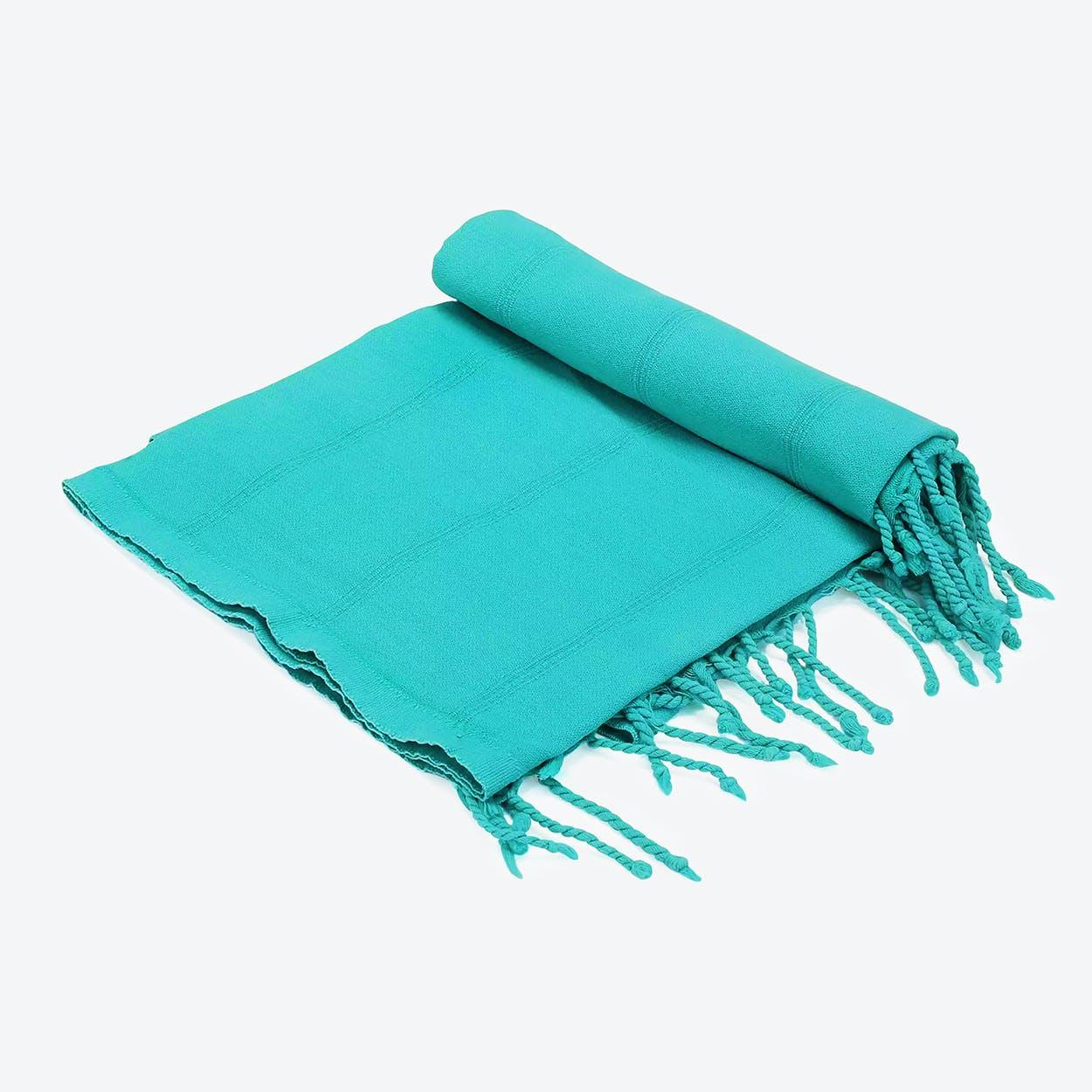 Levi Beach Towel in Navy-Blue