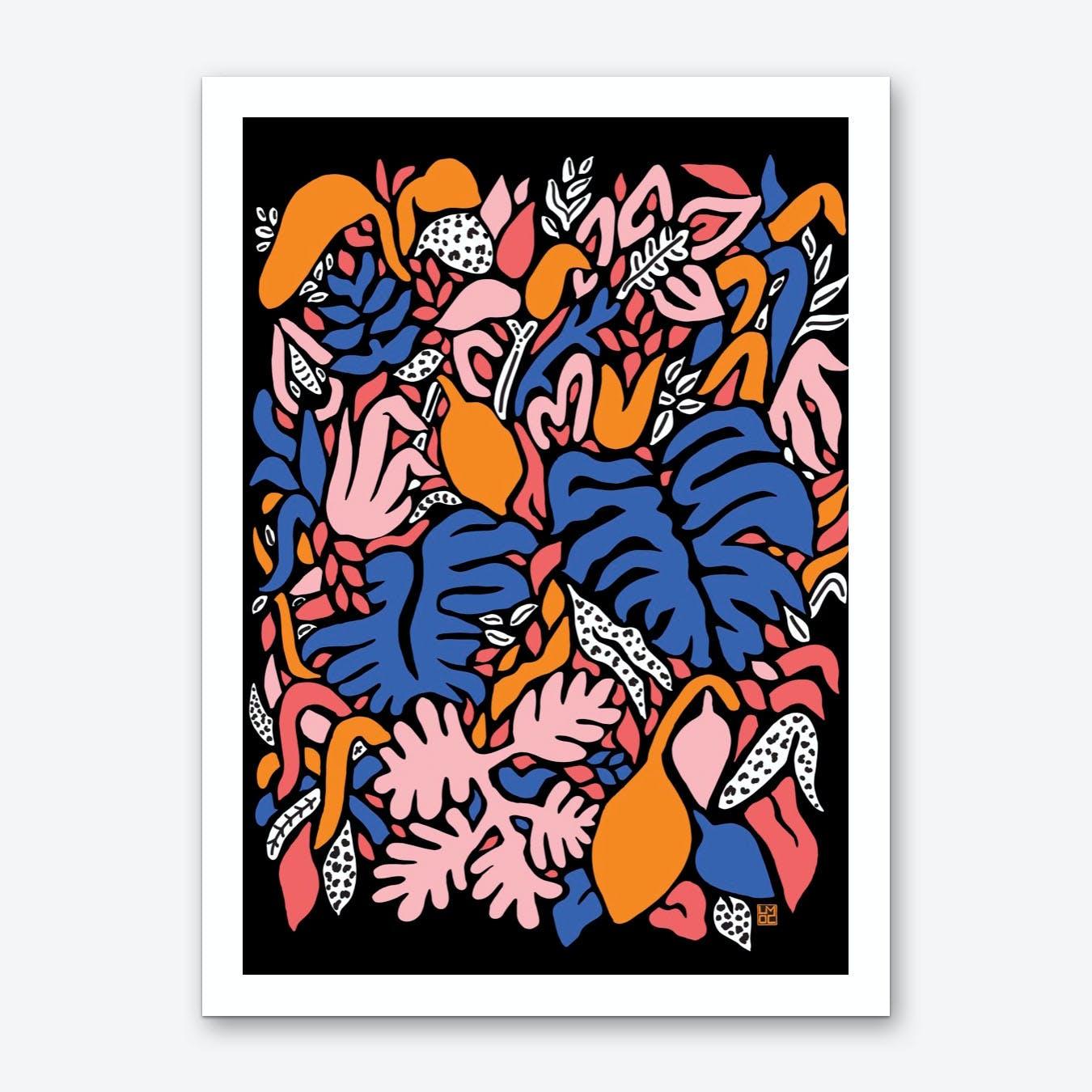 Zest Playful Art Print