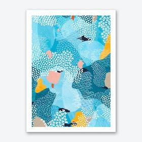 Calm Abstract Art Print
