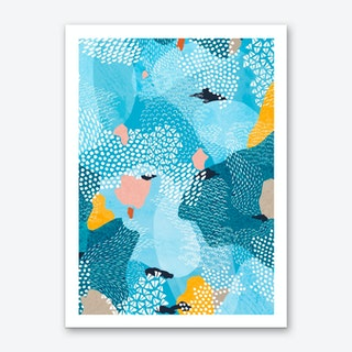 Calm Abstract Art Print