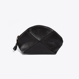 Pyramid Make Up Bag in Black