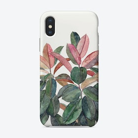 Rubber Plant  iPhone Case