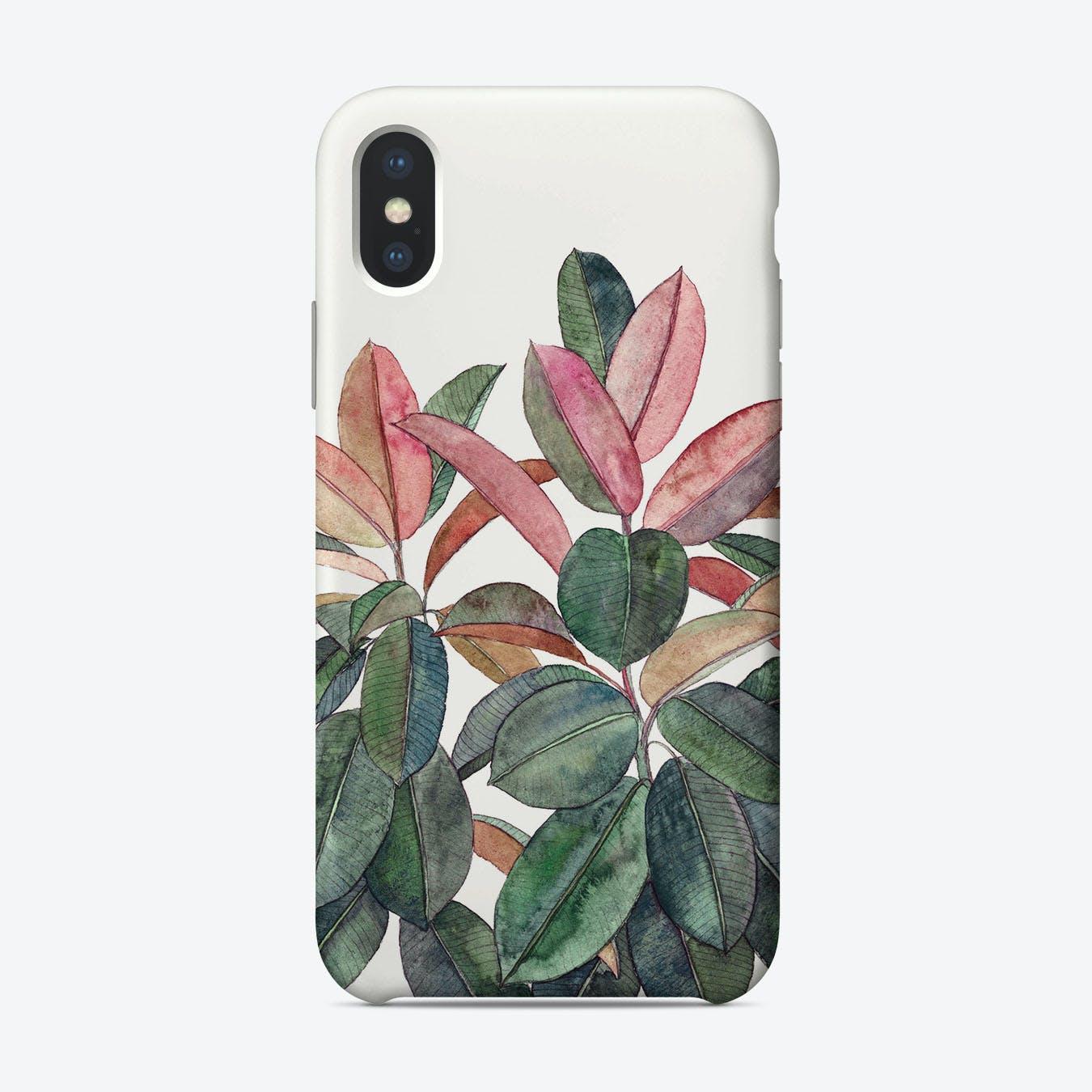 Rubber Plant  iPhone Case
