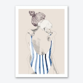 Daughter Art Print