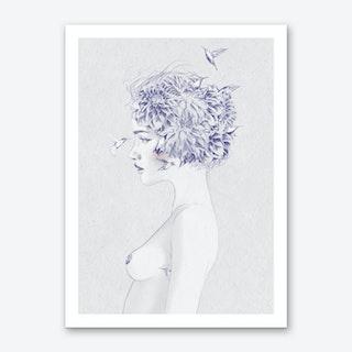 Dahlia 1 Art Print