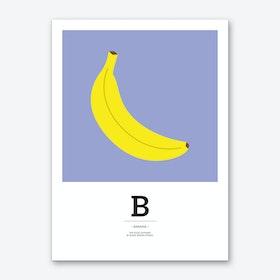 The Food Alphabet – B Art Print