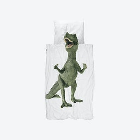 Dinosaurus Rex Duvet Cover & Pillowcase Set