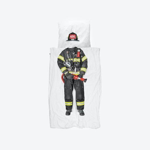 Firefighter Duvet Cover & Pillowcase Set