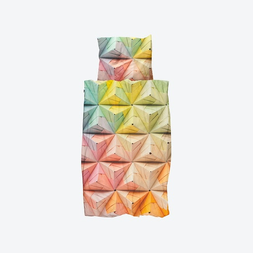 Geogami Duvet Cover & Pillowcase Set