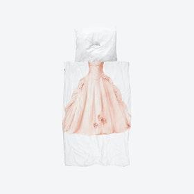 Princess Duvet Cover & Pillowcase Set in Pink