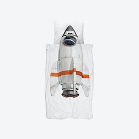Rocket Duvet Cover & Pillowcase Set