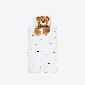 Teddy Duvet Cover & Pillowcase Set