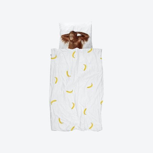 Banana Monkey Duvet Cover & Pillowcase Set