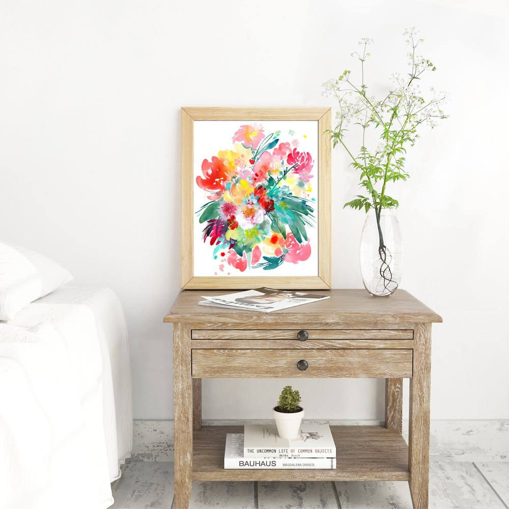 Wild Bouquet Art Print