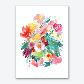 Wild Bouquet Art Print