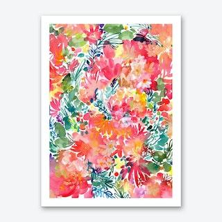 Endless garden Art Print