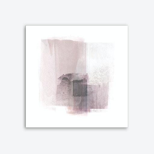 Blush Square Art Print
