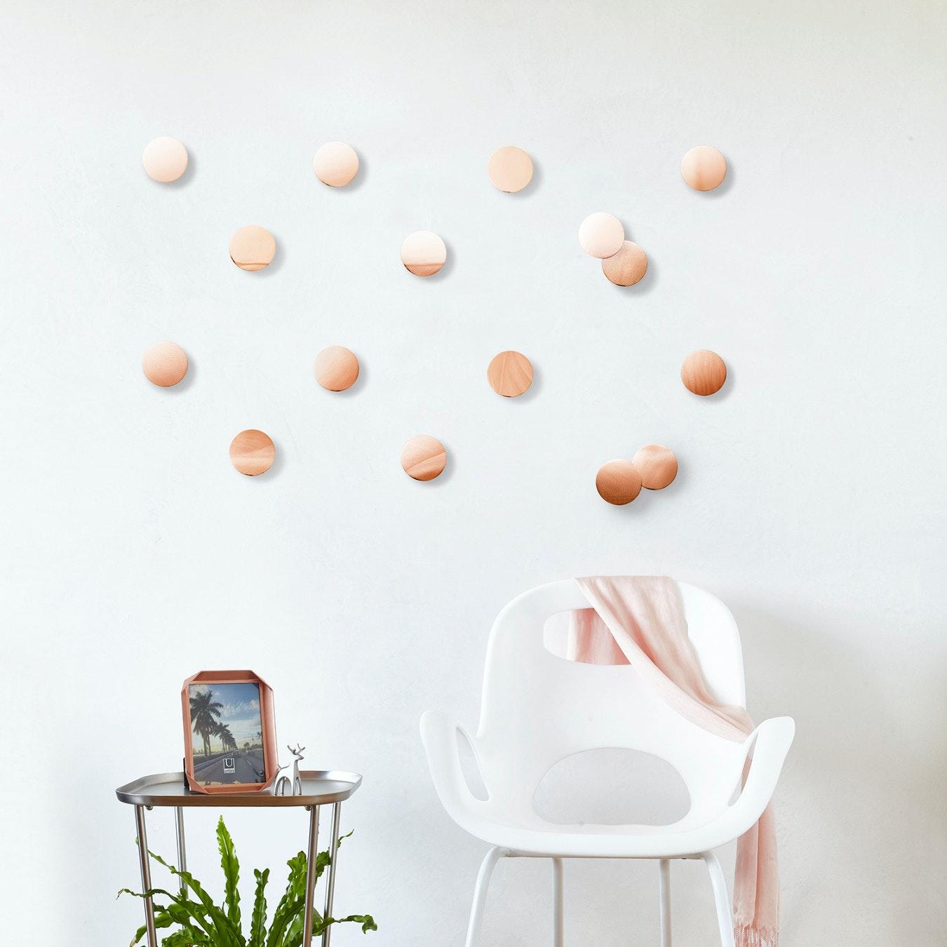 Confetti Dots In Copper Set Of 16
