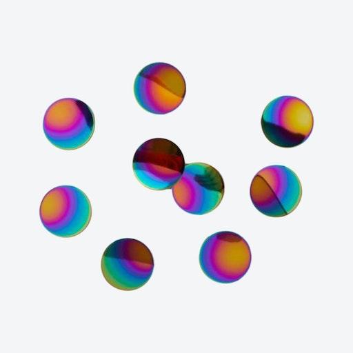 Confetti Dots in Rainbow (Set of 10)