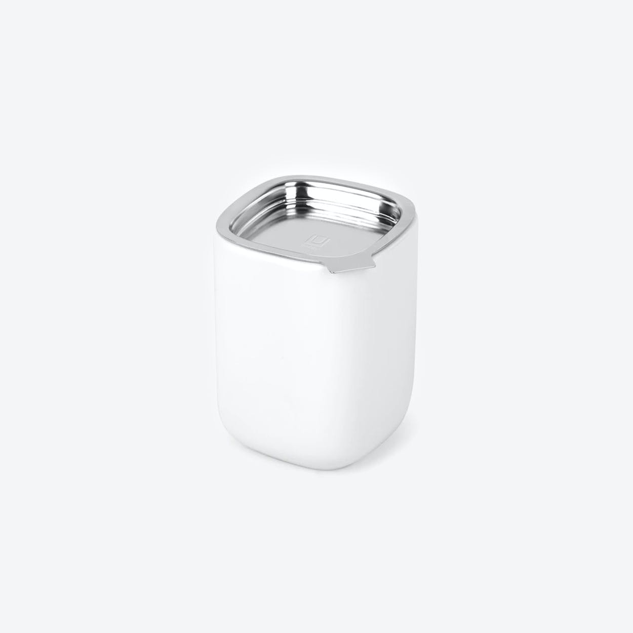 Cutea Canister in White