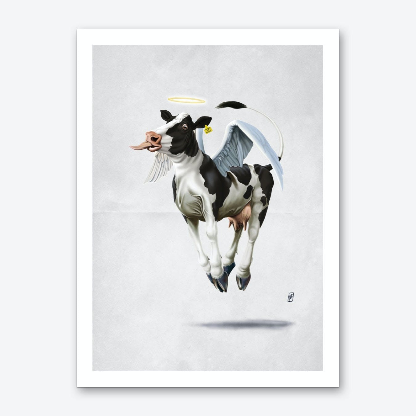 Holy Cow (Wordless) Art Print