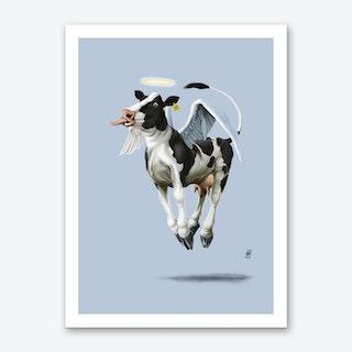 Holy Cow (Colour) Art Print