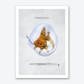 A Breath of Fresh Air Art Print