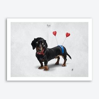 Butt Art Print