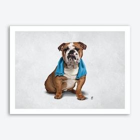 Bull (Wordless) Art Print