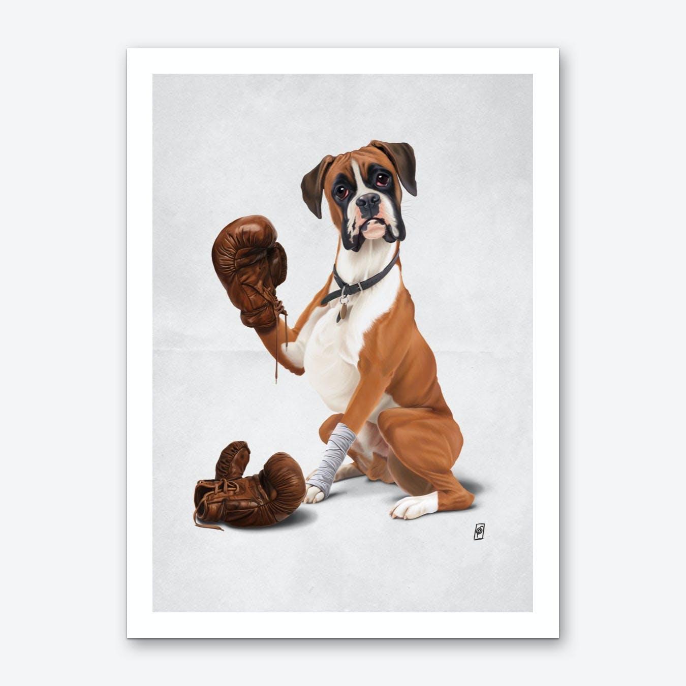 The Boxer (Wordless) Art Print