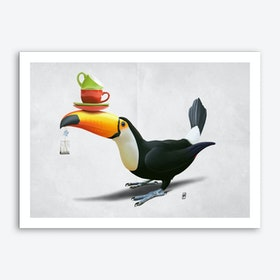 Tea for Tou (Wordless) Art Print