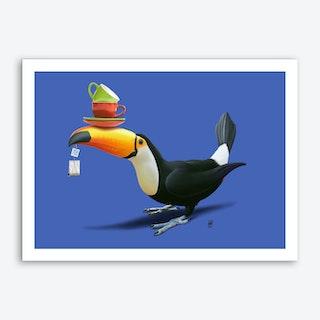 Tea for Tou (Colour) Art Print