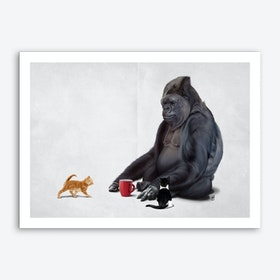 I Should, Koko (Wordless) Art Print