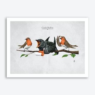 Cock Robin Art Print