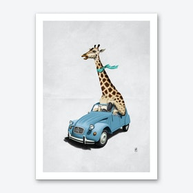 Riding High! (Wordless) Art Print