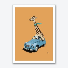 Riding High! (Colour) Art Print