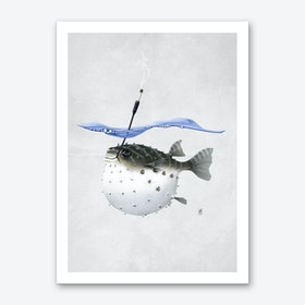 Take It Outside (Wordless) Art Print