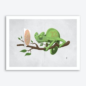 Can't See It Myself (Wordless) Art Print