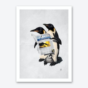 Read All Over (Wordless) Art Print